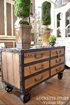 Over 40 great industrial furniture for small apartments - # for # great . - Over 40 great industrial furniture for small apartments – # great # Industry Fur - Industrial Design Furniture, Vintage Industrial Furniture, Western Furniture, Unique Furniture, Furniture Projects, Rustic Furniture, Furniture Makeover, Furniture Decor, Furniture Design