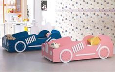 diy toddler bed | Kids Beds Like Cars | Shelterness