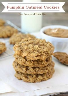 Try this Pumpkin Oatmeal Cookie dessert recipe as a tasty, fall-inspired treat—the perfect sweet surprise for your kids' school lunches!
