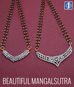 With gorgeous design and unique concept this alluring mangalsutra will definitely blow your mind! Johareez.com