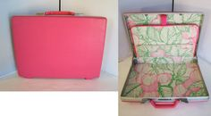 Vintage 1960s Pink Samsonite BriefcaseRetro Mod by linbot1 on Etsy, $50.00