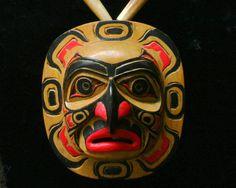 Sun Mask Necklace