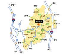 예천오시는길 입니다^^ 예천세계활축제는 2014.10.15-10.19까지 예천읍 한천공원과 남산공원 일대에서 개최됩니다