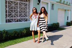 Rainbow Carousel Fashion Blog  Outfit Vintage Jungle & Vintage Cake. Diana Ugaréz y Xayire F. Lima, Perú