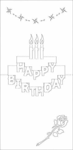 Discover Ideas About Birthday Card Template