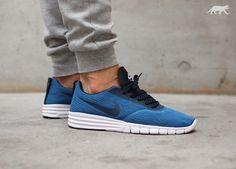 Nike SB Paul Rodriguez 9 R / R (Brigade Blue / Dark Obsidian - White)