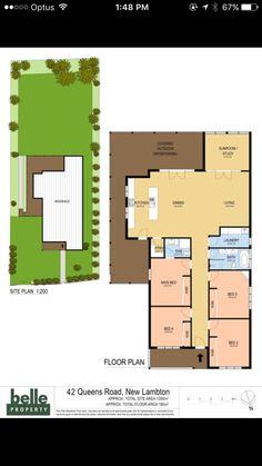 Floor plan goals