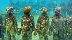 The underwater statue park in Grenada - I finally got to visit!