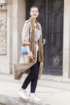 Model Off Duty Larissa Hofmann :: Paris Haute Couture Fashion Week Fall/Winter 2014-2015
