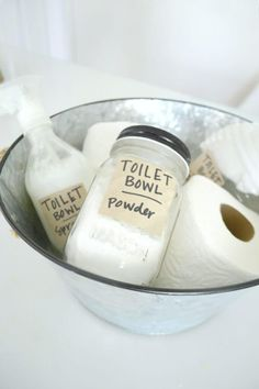 3 DIY Natural Toilet Bowl Cleaners