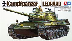 - Special feature scale assembly model kit of the West German Kampfpanzer Leopard. Tamiya Model Kits, Tamiya Models, Hellenic Army, Airfix Models, Afghanistan War, Alternate History, German Army, Armored Vehicles, Model Building