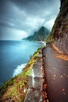 Madeira Island, narrow pathways #Portugal. The soul delights watching these pictures. Free. ❤️/madelen