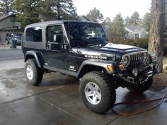 Originally Posted by G Beasley View Post That didnt take long Had to fix this front bb, figured I might as well get the good stuff! Cj Jeep, Jeep Suv, Jeep Truck, Jeep Wrangler Silver, Jeep Wrangler Tj, Jeep Rubicon Unlimited, Jeep Models, Cool Trucks, Hot Cars