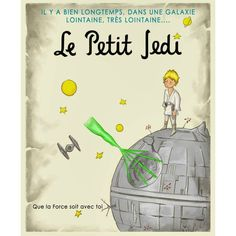 Tekrar paylaşmanın zamanı. ;) Güç sizinle olsun!  http://angelsaquero.deviantart.com/art/Le-Petit-Jedi-462476289  Time to share again. ;) May the force be with you!  #kucukprens #küçükprens #lepetitprince #littleprince #elprincipito #opequenoprincipe #ilpiccoloprincipe #derkleineprinz #exupery #b612 #starwars #lepetitjedi #jedi #güçsizinleolsun #maytheforcebewithyou