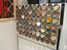 Large-Magnetic-Spice-Rack-Organizer