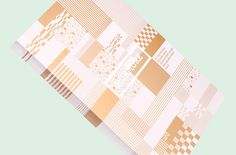 Greeting Cards — 2015 on Behance / personal project: try using gold/silver foil ink for this