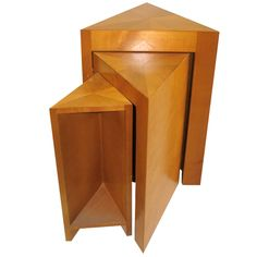 ""\""""Surprise Table"""" By Jean Michel Frank  FRANCE  1980s  THIS IS A RE-EDITION OF THE FAMOUS SIDE TABLE. TWO ADDITONAL TABLETOPS SWING OUT FROM THE BASE""236|236|?|en|2|d313ee8a85e7fa2be8c1c79b7d0757e2|False|UNLIKELY|0.2931281328201294