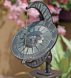 beautiful sundial: