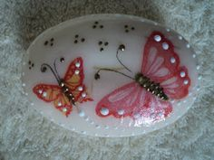 Decoupage, Seashell Art, Vintage Buttons, Stone Painting, Rock Art, Painted Rocks, Coloring Pages, Diy And Crafts, Wax