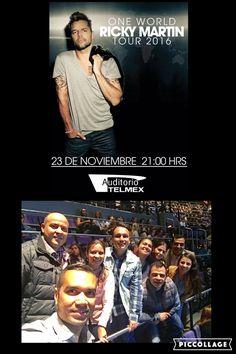 Living la vida loca 🎤  Ricky Martin 23/11/16