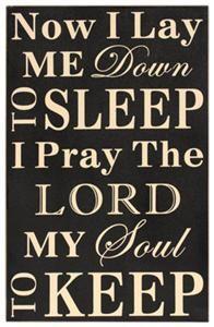 My childhood prayer