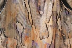 Ostwald Helgason...  paint on dye and bleed like watercolor