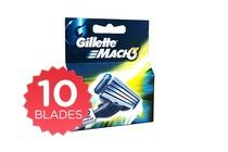 10 Pack Gillette Mach 3 Razor Blades For The Perfect Shave