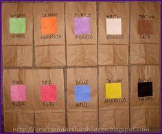 Color Scavenger Hunt Activity for Kids ~ Learning Spanish Colors Activity - Artsy Momma Learning Spanish For Kids, Spanish Activities, Color Activities, Science Activities, Fun Learning, Activities For Kids, Preschool Spanish, Teaching Spanish, Spanish Classroom