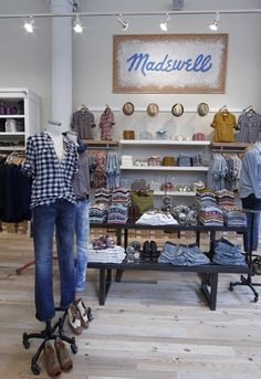 Display and mannequins