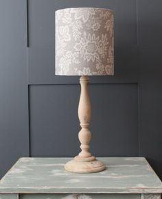 Orissa French Grey Drum Lampshade