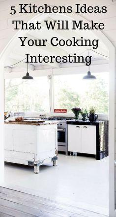 5 Kitchens Ideas That Will Make Your Cooking Interesting. Color InteriorModern  Interior DesignModern ...