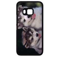 Siberian Husky Puppies Dog HTC Phonecase For HTC One M7 HTC One M8 HTC One M9 HTC One X