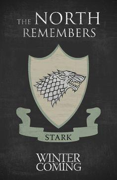 Game of Thrones (2011–) ~ Minimal TV Series Poster by Begum Ozdemir #amusementphile