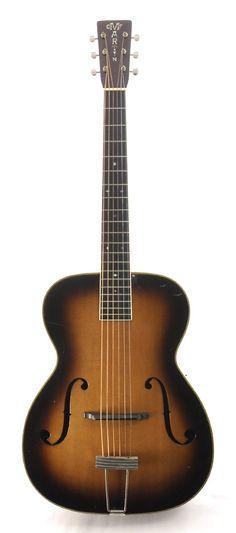 Martin C-2 1937 archtop guitar