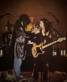 """Me talking with my brother Kevin Dubrow while filming """"Soulfully Live In The City Of Angels"""""""