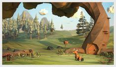 Jeremy Kool - The Paper Fox - Scene