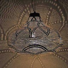 egyptische lampen halima hanglamp peer met gaatjes de