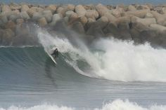 surf em Espinho, Portugal