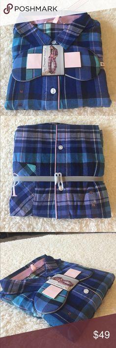 🌺NWT VICTORIAS SECRET the DREAMER flannel Pj BRAND NEW! VICTORIAS SECRET the DREAMER flannel Pj SZ M Victoria's Secret Intimates & Sleepwear Pajamas