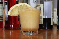 Chamomile, Bourbon, Sherry and Grapefruit Slushito