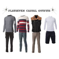 """CASUAL OUTFITS #17""  #FLATSEVENSHOP.COM #men #fashion"