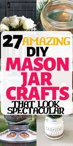 Mason Jar Gifts, Mason Jar Candles, Mason Jar Diy, Staining Mason Jars, Crafts With Glass Jars, Mason Jar Projects, Jar Recipes, Diy Holiday Gifts, Craft Making