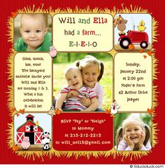 Boyandgirlcombinedbirthdayinvitations sibling birthday twin birthday cards joint party invitations personalized for your double party theme sibling birthday invites for all occasions stopboris Gallery