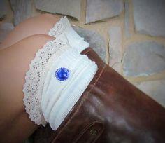 Blue Round Rhinestone