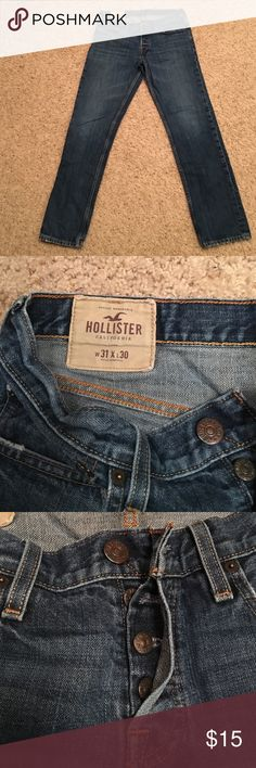 Hollister jeans 31 x 30 Hollister jeans in great condition size 31 x 30 Hollister Jeans Straight