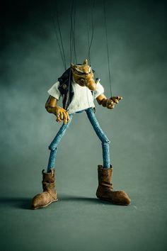 DON BECKER Marionettes at the 2014 Crafty Bastards Arts & Crafts Fair - Washington City Paper