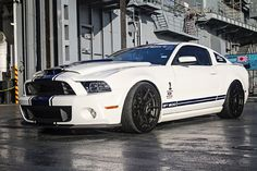 One Bad 2013 GT500 Mustang That Tears Off More Than 230 MPH at the Texas Mile