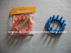loom knitting   Knitting Loom,DIY Round Loom Knitting,Nifty Knitter Round Loom Series ...