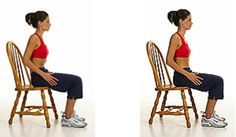 seated vacuum ab exercise