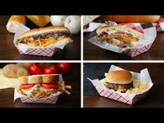 4 Famous Sandwiches from 4 Cities - YouTube